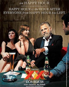 Dos Equis: the most interesting man in the wine world